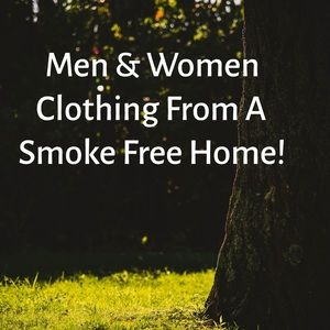 Men & Women Clothing From A Smoke Free Home!